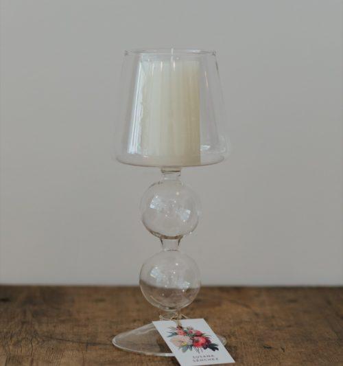 lampara cristal para vela